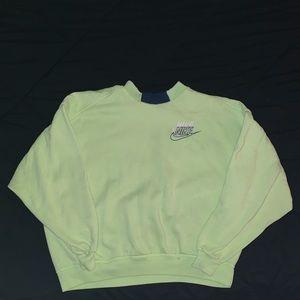 Vintage Nike Neon oversized sweatshirt